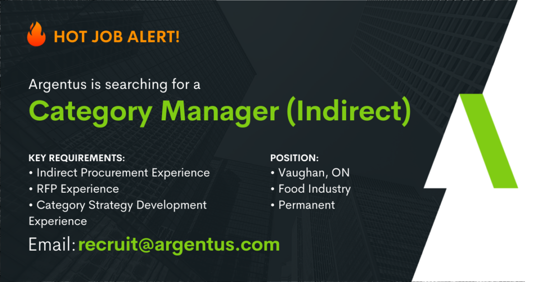 Category Manager (Indirect)